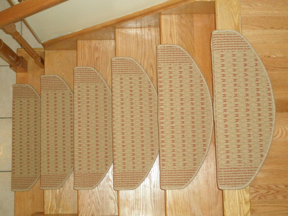 Delightful Non Slip Carpet Stair Mats Ship From Canada ...