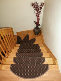 Non-slip Carpet Stair Treads made in Europe buy USA