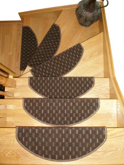 carpet stair treads. non-slip carpet stair treads made in europe